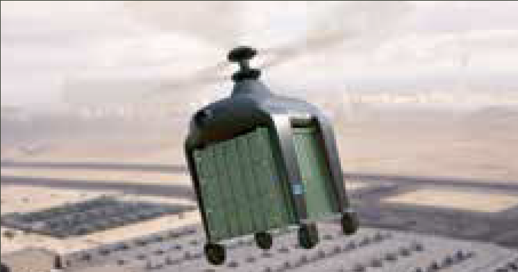 Hel eCrane Military - Mini